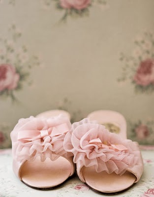 Pink Rose Slipper from Country Living