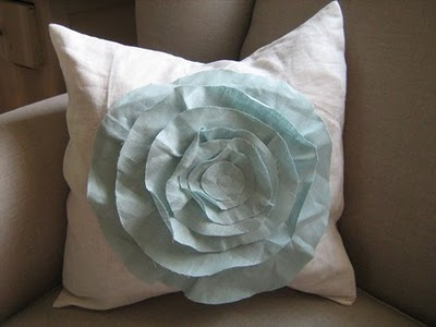 French Rose Pillow by dedeetsyshop on etsy