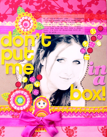 Don't put me in a Box !!