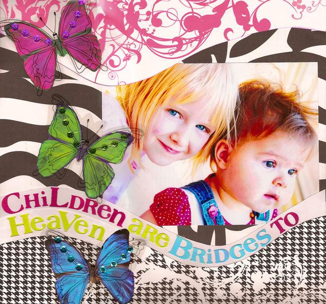 Children are bridges to Heaven