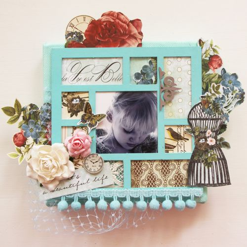 Mini Canvas Class - Webster's Pages